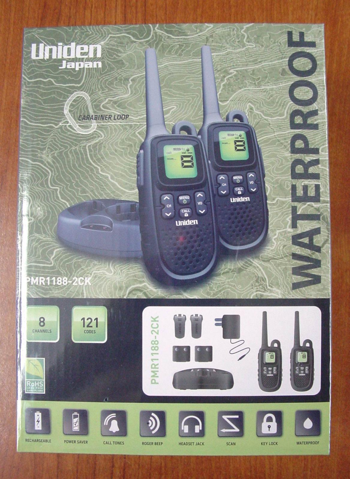 מכשיר קשר UNIDEN PMR1188-2CK